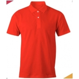camisa polo vermelha Jockey Club