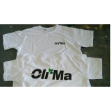 silks screen em camiseta logos de empresa Cocais